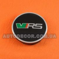 Колпачки заглушки на литые диски Skoda (56/52/7) VRS 5JA601151A