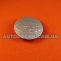 Колпачки заглушки на литые диски Subaru (59/52/8) серебро
