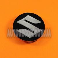 Колпачки заглушки на литые диски Suzuki (54/51/8) черные