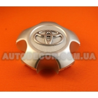 Колпачки заглушки на литые диски Toyota (114/75/35) C-6112K114 серебристые