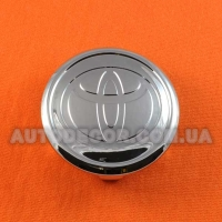 Колпачки заглушки на литые диски Toyota (57/50/16) хромированный