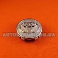 "Колпачки заглушки на литые диски Toyota (57/53/11) 352110 хром ""фреза"""