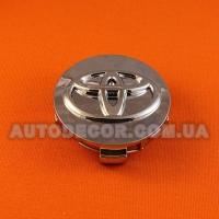 Колпачки заглушки на литые диски Toyota (62/56/20) 740K62 хромированные