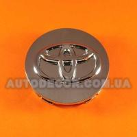 Колпачки заглушки на литые диски Toyota (65/58/14) S2816 хром