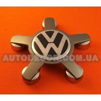 Колпачки заглушки на литые диски Volkswagen (135/57/14) ЗВЕЗДА 4F0 601 165 N