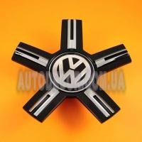 Колпачки заглушки на литые диски Volkswagen (168/56/24) черные