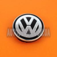 Колпачки заглушки на литые диски Volkswagen (56/52/7) 6CD601171