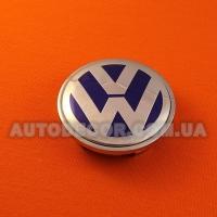 Колпачки заглушки на литые диски Volkswagen (65/56/12) 3B7 601 171 синий