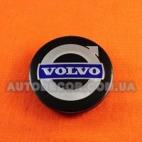 Колпачки заглушки на литые диски Volvo (56/52/7) 5JA601151A черные
