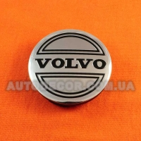 Колпачки заглушки на литые диски Volvo (56/52/7) 5JA601151A хром
