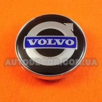 Колпачки заглушки на литые диски Volvo (60/56/10) black