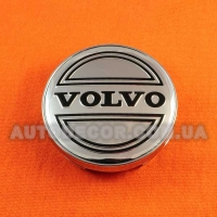 Колпачки заглушки на литые диски Volvo (60/56/10) hrom