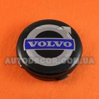 Колпачки заглушки на литые диски Volvo (64/61/10) 3546923 черные