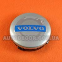 Колпачки заглушки на литые диски Volvo (64/61/10) 3546923 серые