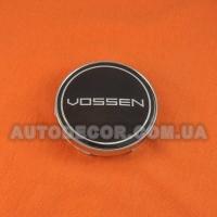 Колпачки заглушки на литые диски Vossen (60/56/10) черные